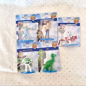 Toy Story 4 Mini Figures Set of 5
